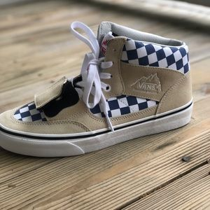 Vans checkerboard high tops-Mountain Edition